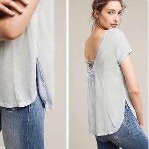 Lilka Mix and Match lace up back T-shirt